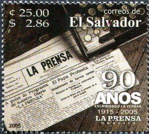 "Newspaper ""La Prensa Grafica"""