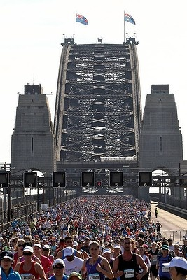 The Blackmores Sydney Running Festival 2012.