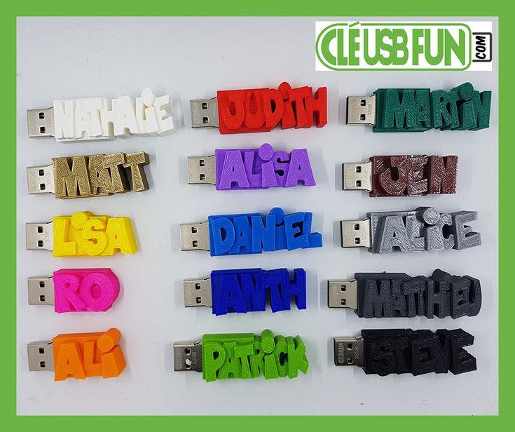 🎁 une Clé USB personnalisée Avec VOTRE TEXTE ! 🎁 👉 https://cle-usb-fun.com