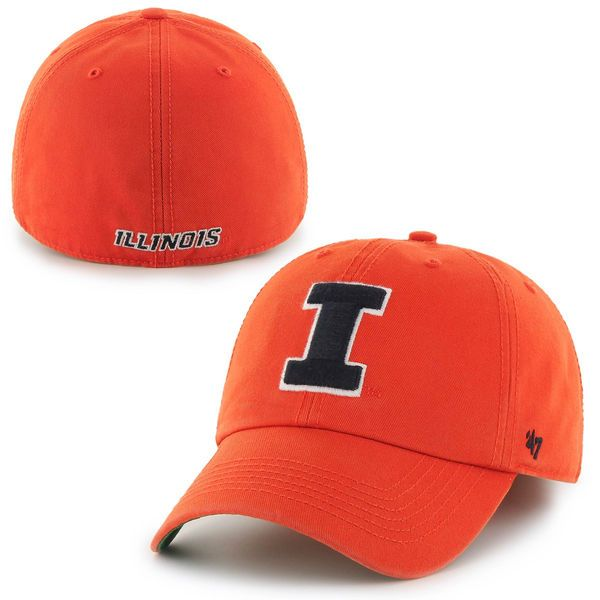 Illinois Fighting Illini '47 Brand Franchise Fitted Hat – Orange - $29.99