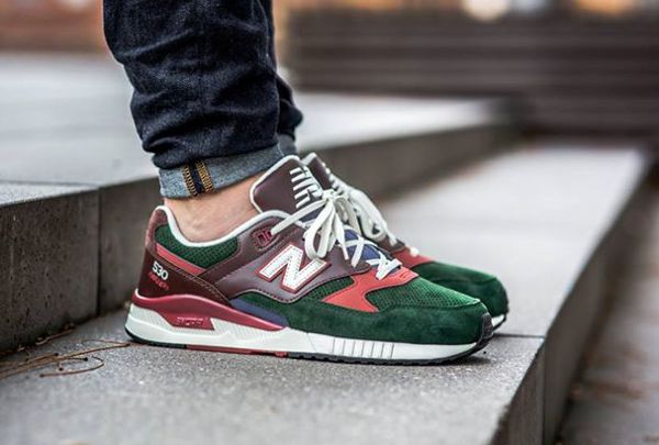 New Balance M530 RWA Green Brown