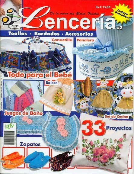 Revistas de manualidades gratis: Lenceria para el hogar