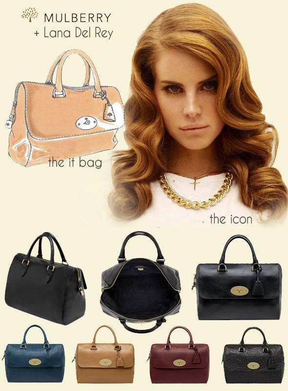 Mulberry Del Rey bag as seen on @skimbaco http://www.skimbacolifestyle.com/2012/09/mulberry-del-rey.html