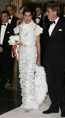 2006 - Princess Caroline of Monaco and her husband, Prince Ernst August of  Hanover at the Red Cross Ball