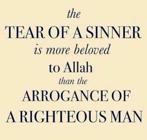 The sinner and the righteous