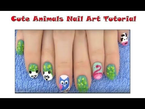 Cute Animals Nail Art Tutorial | Makeup Tutorial Channel... See More Here : http://goo.gl/jDA1dc  Hope Your Enjoy! ..... Like, Share, Comment & Subscribe Us!  More Makeup Tutorial Channel videos ... Click Here: https://www.youtube.com/channel/UC3SbRN6zFEgCdnKHZj28B4w #nailart #nailarttutorial #nailarttutorialvideo