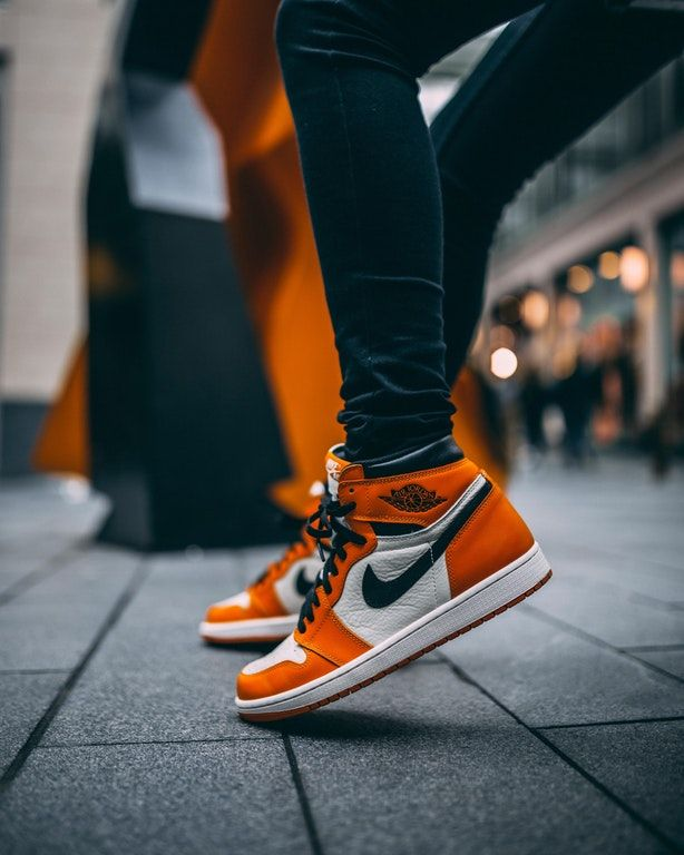 Orange Is The New Black Sneakers Streetwear Orange Shoes