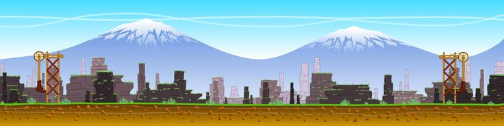 Game backgrounds side scrollers - Google Search