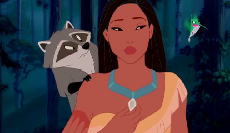 """""""My Mother's Necklace""""--Pocahontas (FB)"""