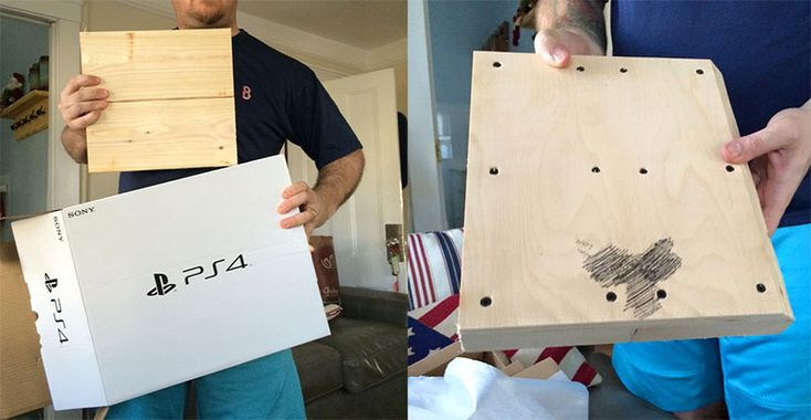 Boy Opens Christmas PlayStation 4, Finds A Block Of Wood With A Dick On It