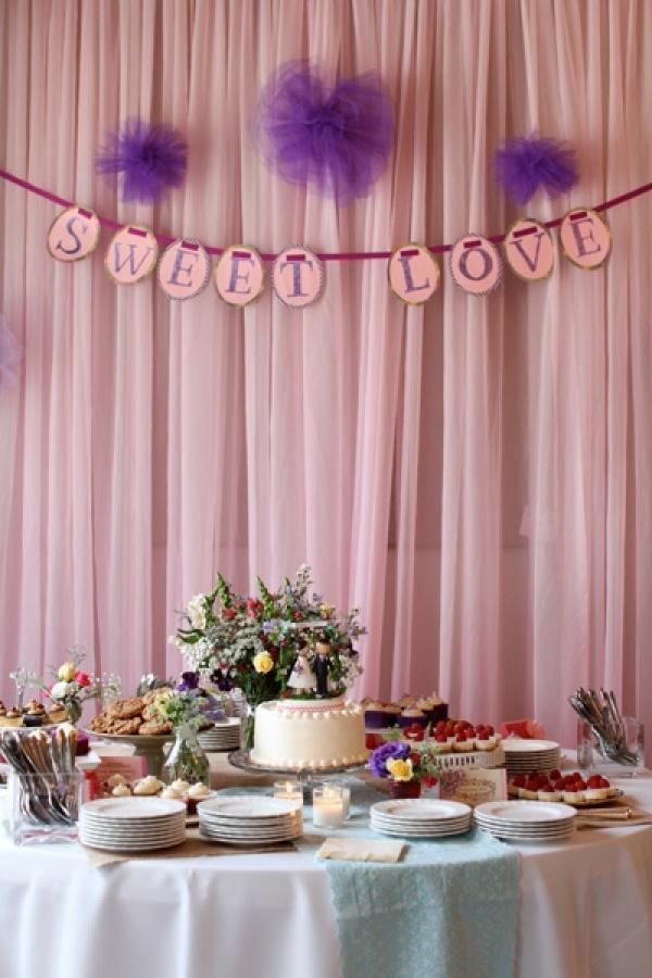 Zoete tafel | Dessert table
