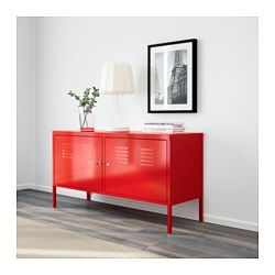 High Quality IKEA PS Cabinet, Red