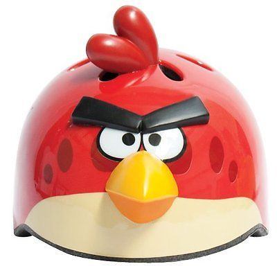 Angry Birds 3D Helmet with Sounds from The Game Childrens Bike Helmet, New
