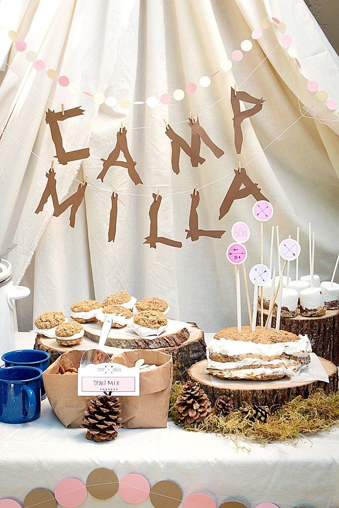Camp-Themed Birthday Party for Kids | Evermine Occasions | www.evermine.com