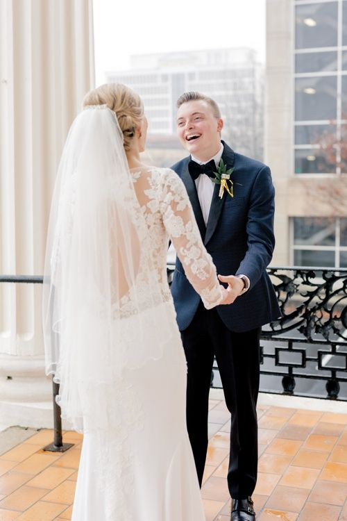 Timeless Greenville South Carolina Winter Wedding | Drew + Anna | New years eve weddings, Winter ...