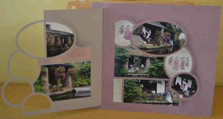 Les lavoirs de Pontrieux - Anne fait du scrap
