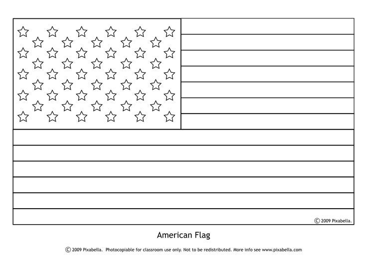 American Flag Coloring Page Flag Coloring Pages American Flag Coloring Page Star Stencil