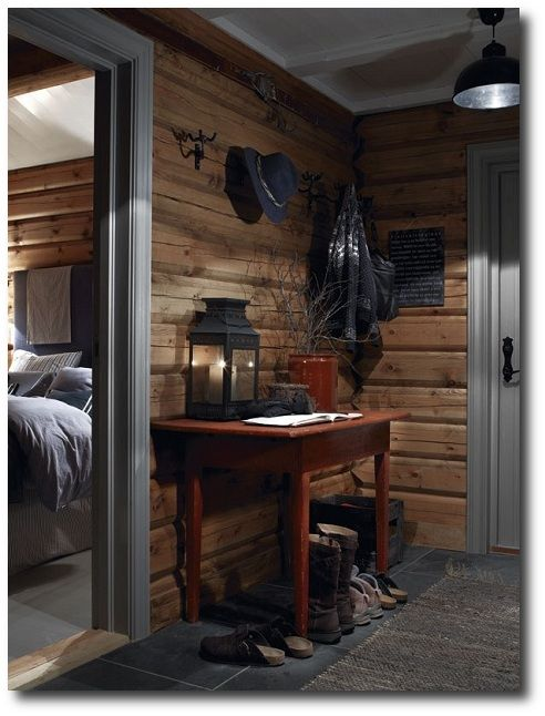 Norwegian Decorating Ideas | ... log cabin design Norway 7 Ski Cottage in Norway Simple Is Beautiful
