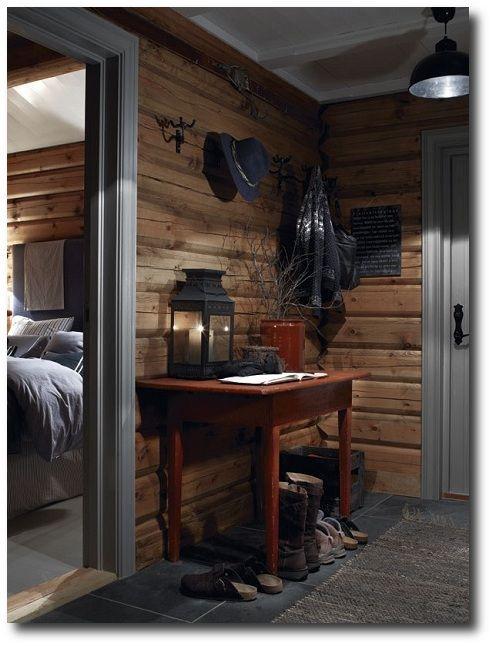 Norwegian Decorating Ideas | ... log cabin design Norway 7 Ski Cottage in Norway Simple Is Beautiful