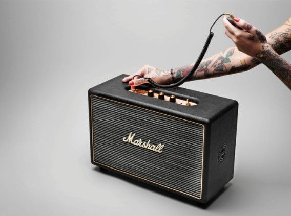 Marshall's Hanwell HiFi speaker bred from guitar amps, made to pump out
