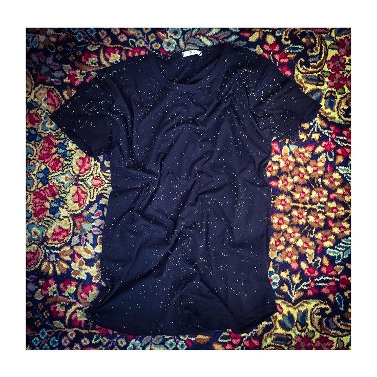 New Tee Black Print White/Grey FW15 ! #ootd #outfit #styles #style #art #AI15 #autumn #amazing #Berna #bernaitalia #black #tee #fall #fw15 #follow #fashion #man #woman #white #grey #girls #monday