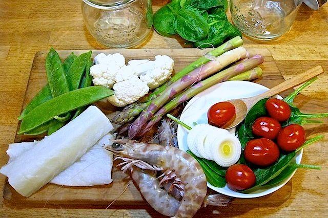 Come fare la vasocottura, ingredienti