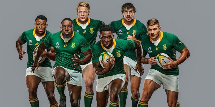 News Springboks Reveal Rwc 2019 Asics Jerseys Rugby Shirt Watch South Africa Rugby Rugby World Cup Springboks Rugby South Africa