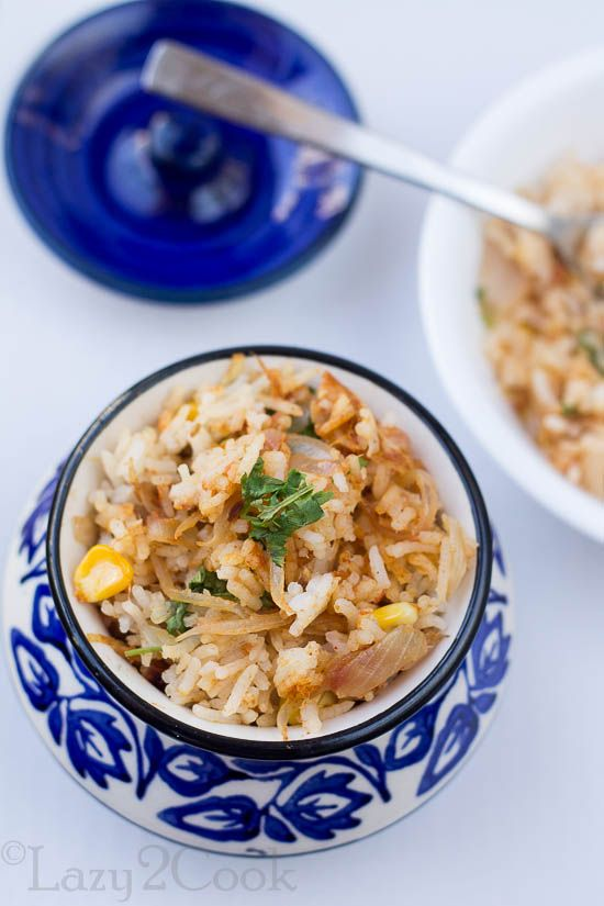 Sweet Corn and Tomato Biryani is very refreshing and have earthy and tangy flavors of Tomato.Fresh Sweet Corns add very nice flavors to this Biryani.