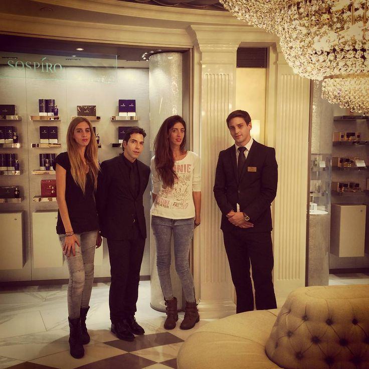 Rosina Perfumery at Harrods Salon De Perfumes 6Th Floor   #tbt #throwback #london #harrods #salondeperfumes 6th floor  #rosinaperfumery meets #xerjoff ▫ #athens #mykonos