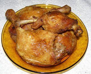 W Mojej Kuchni Lubię.. : pieczone uda kurczaka na termoobiegu...