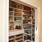 Solve common kitchen dilemmas in style with custom and ready-made organizers, drawers, shelves and more