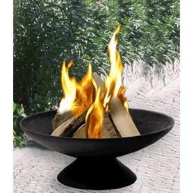 Esschert Design Feuerschale Ferro 60 Cm ø,1 St Feuerkorb Im Garten Gestaltungstipps