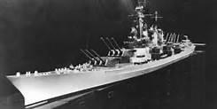 Montana-class battleship, official US Navy model. She would have cut a fine figure.