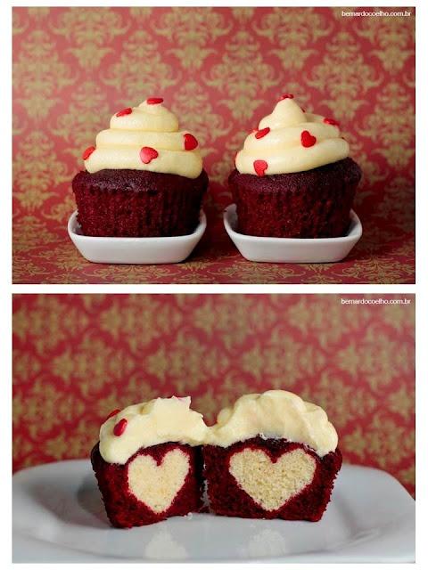 Cakes da Cuca red velvet heart. cakesdacuca.com e http://bernardocoelho.com.br/