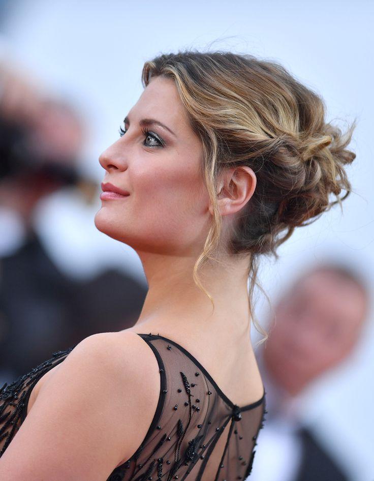 Les plus beaux chignons de stars | Chignons de stars, Belle coiffure et Coiffure bohème mariage