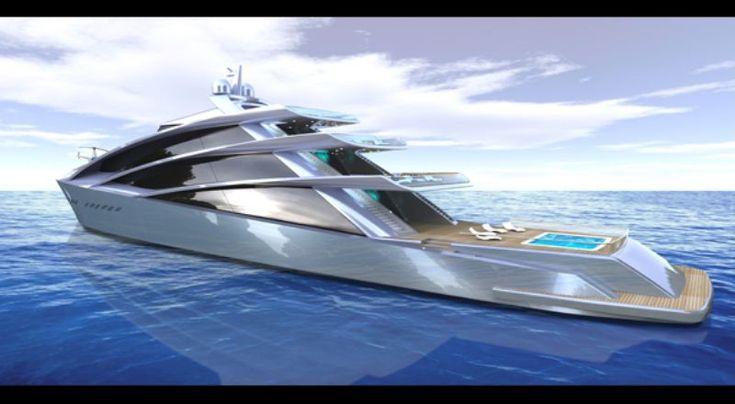 Spira - a 70m superyacht concept from Scott Hnderson, NY