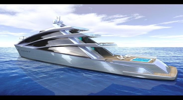 Spira - a 70m superyacht concept from Scott Hnderson, NY