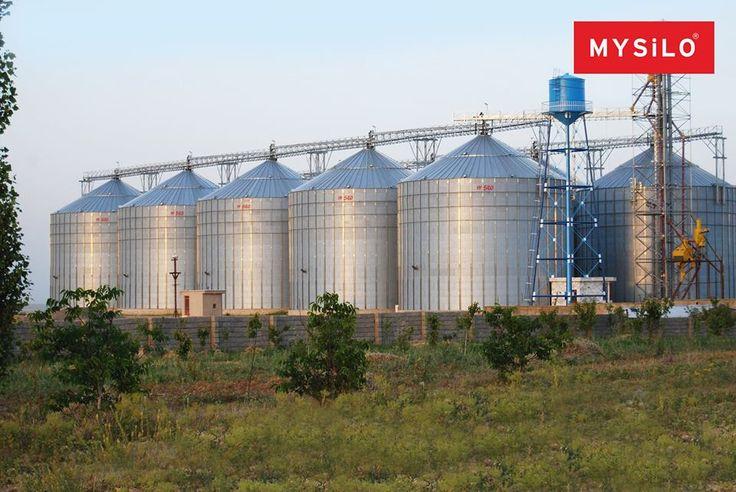 Avrupa'nın En Büyük Silo Üreticisi Mysilo! www.mysilo.com #mysilo #silo #silos #tahıl #çelik #depolama #tahıldepolama