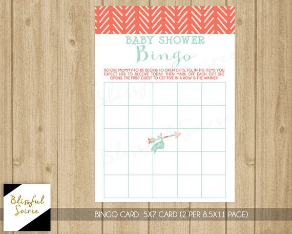 Baby Shower Gift Bingo Printable ~ Baby shower bingo cards baby bingo cards baby bingo game