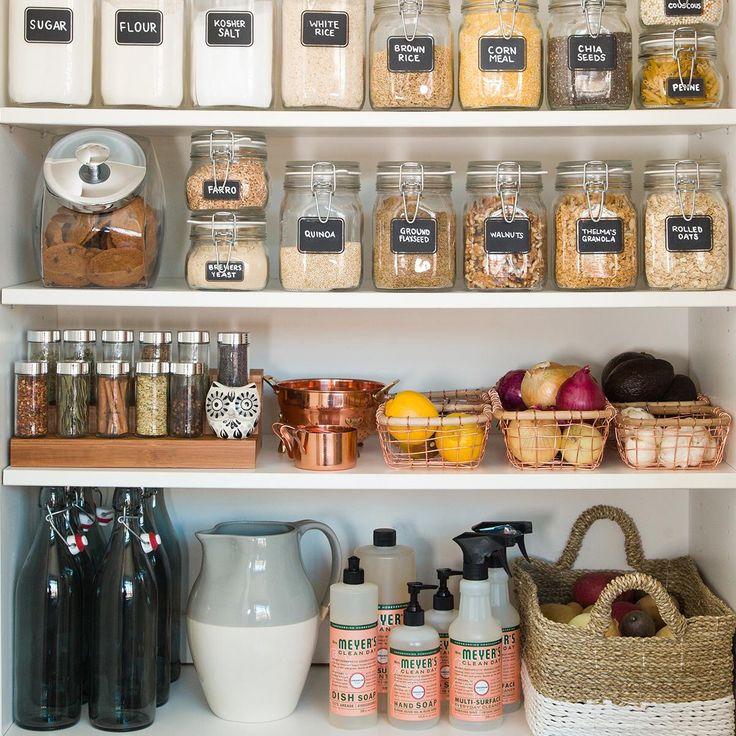 Kitchen organization food storage pinterest do it for Do it yourself home organization
