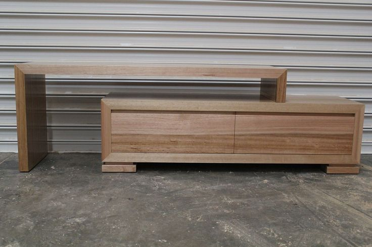 Newtown Tasmanian OAK Hardwood Timber Wooden Lowline TV Unit Entertainment Unit | eBay
