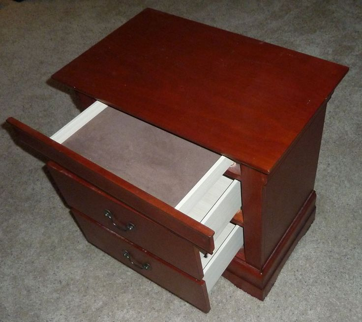 Night Stand Plans With Hidden Compartment Woodworking