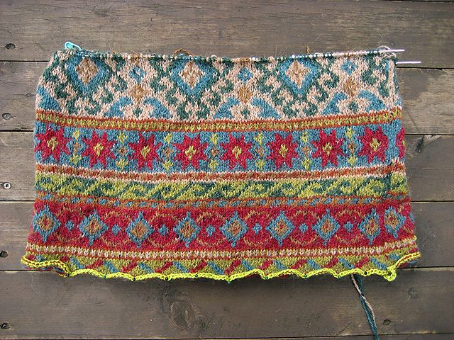 Ravelry: dayana's Anatolia. Such beautiful colours in this work in progress!