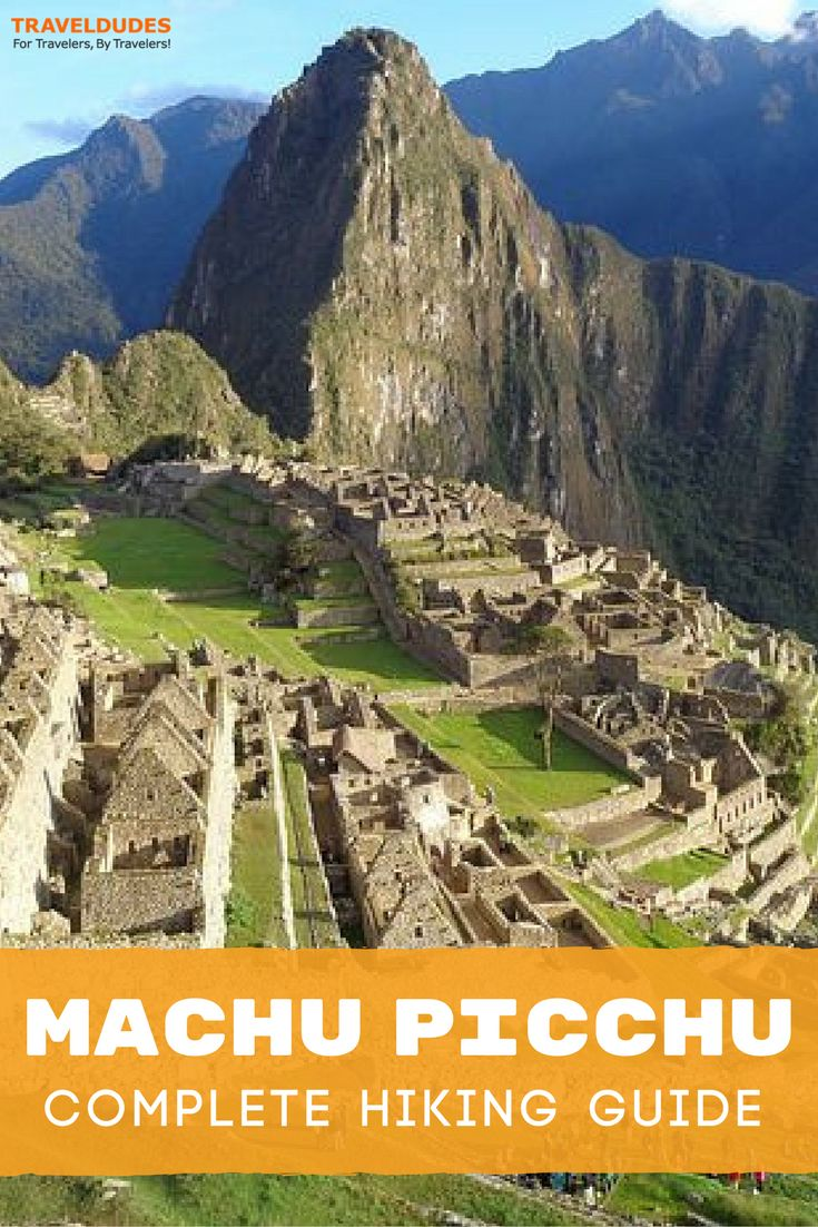 The ultimate guide to hiking to Machu Picchu in Peru, including best times to visit, what to pack, important documents, essential gear and more. Best of travel in South America. | Travel Dudes Travel Community #MachuPicchu #Peru