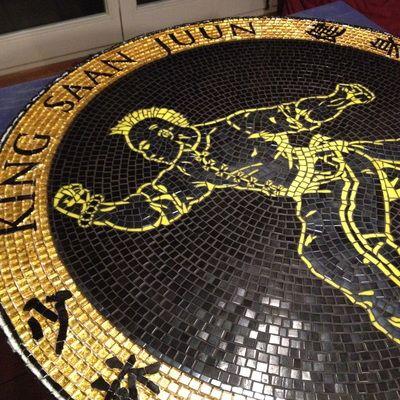 King Saan Juun logo voor de sportschool