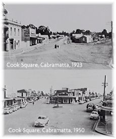 Coos Square through the years