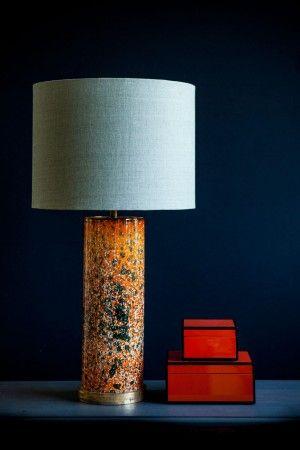 Bordslampa Cypern Orange