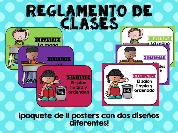 M s de 1000 ideas sobre reglamento de clases en pinterest for Actividades en el salon de clases