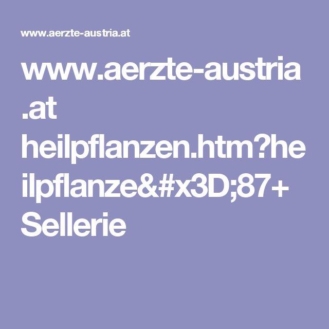 www.aerzte-austria.at heilpflanzen.htm?heilpflanze=87+Sellerie