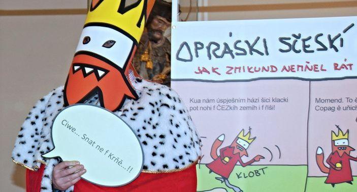Ještě stále stihnete Lucemburské opráski... http://www.dobrynocleh.cz/clanky/co-se-kde-deje/lucemburske-opraski-vystava-v-brne
